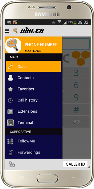 Asterisk Connect for Android and Iphone